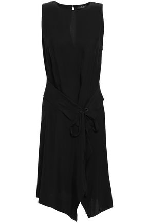 RAG & BONE Draped twill dress