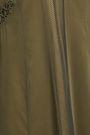RAG & BONE Louise stretch-silk, chiffon and mesh midi slip dress