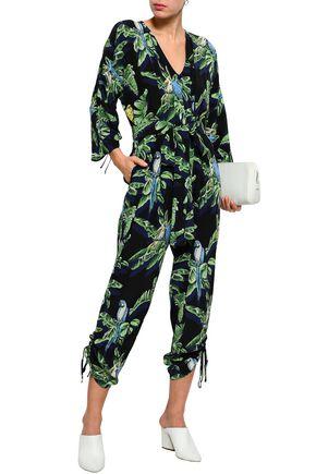 5ee8caa47f1 STELLA McCARTNEY Printed silk crepe de chine jumpsuit