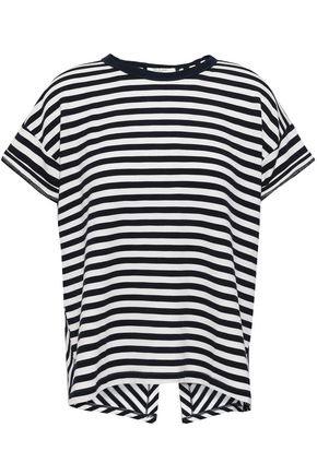 RAG & BONE Striped modal-blend T-shirt