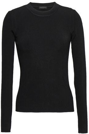 RAG & BONE Sylvie ribbed-knit sweater
