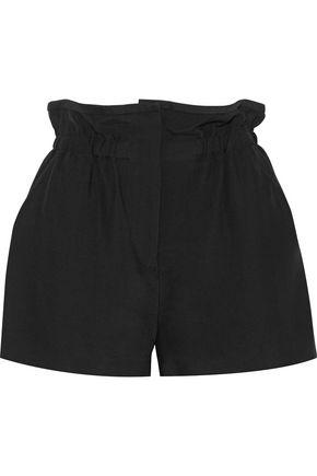 IRO Fineti gathered woven shorts