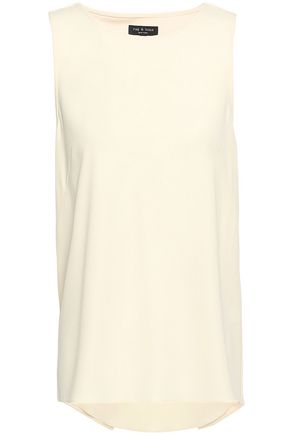 RAG & BONE Harper crepe top