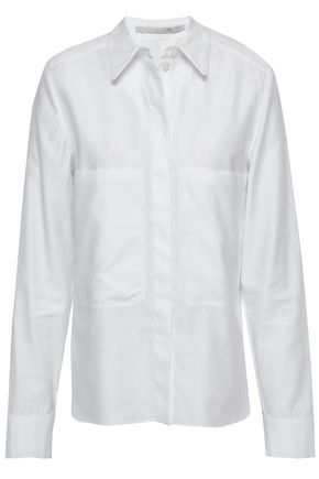 STELLA McCARTNEY Cotton-poplin shirt