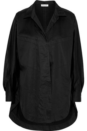OPENING CEREMONY Oversized cotton-blend poplin shirt