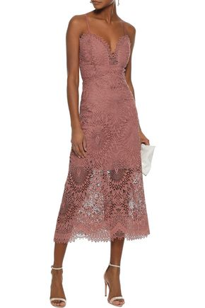 MARISSA WEBB Dillon guipure lace midi dress