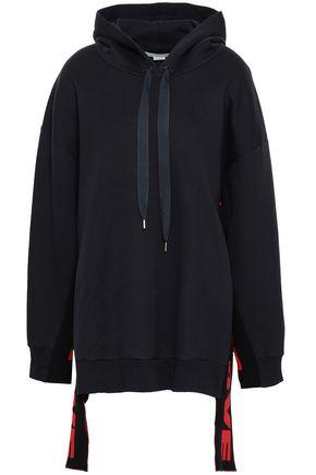 STELLA McCARTNEY Cotton-blend jersey hooded sweatshirt