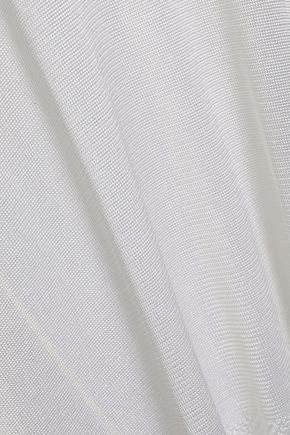 EMILIO PUCCI Draped stretch-knit tank