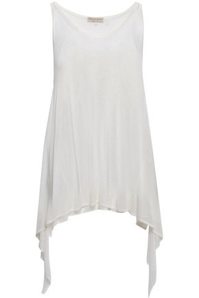 EMILIO PUCCI Draped stretch-knit tank