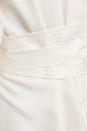 ZIMMERMANN Belted silk shirt