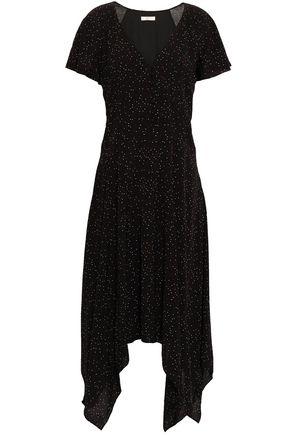 JOIE | Joie Asymmetric Printed Voile Dress | Goxip