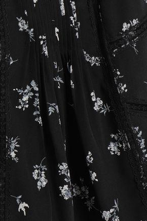 ZIMMERMANN Floral-print silk crepe de chine camisole