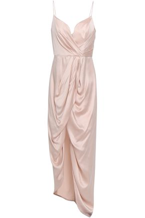 ZIMMERMANN Draped washed-silk maxi dress