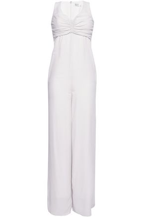 ZIMMERMANN Ruched crepe jumpsuit