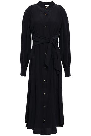 ZIMMERMANN Silk midi shirt dress
