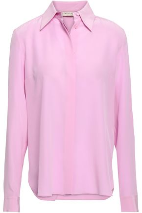 EMILIO PUCCI Washed-silk shirt