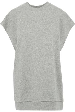 MARQUES' ALMEIDA Oversized French cotton-terry tank