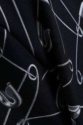 LOVE MOSCHINO Printed stretch-jersey mini dress