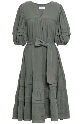 ZIMMERMANN Kali crinkled-cotton midi dress