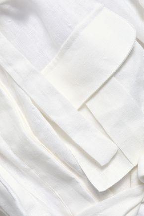 ZIMMERMANN Radiate linen dress