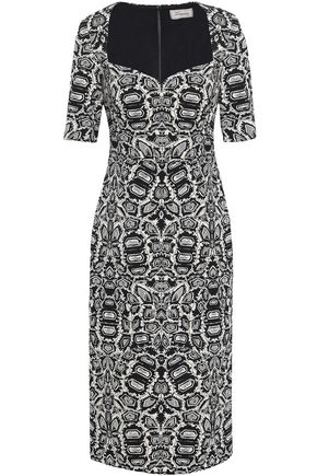 TEMPERLEY LONDON Mercury jacquard dress