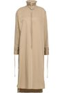 DEREK LAM Ruffle-trimmed stretch-cotton midi dress