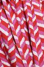 RAOUL One-shoulder belted printed stretch-crepe jumpsuit
