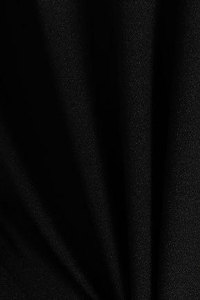 RAOUL One-shoulder belted stretch-crepe jumpsuit