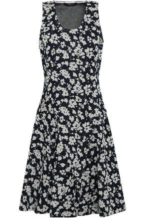 DEREK LAM Jacquard-knit mini dress