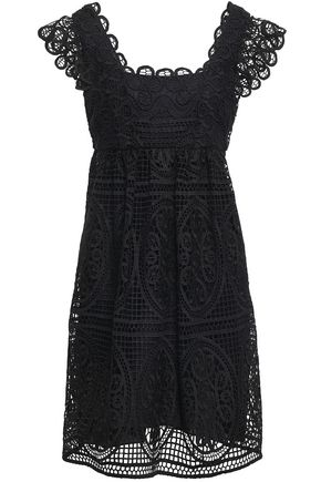 TEMPERLEY LONDON Guipure lace dress