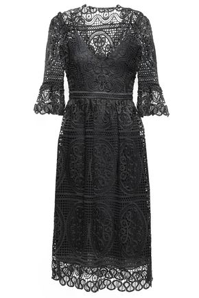 TEMPERLEY LONDON Titania guipure lace dress