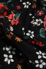 DEREK LAM Floral-print silk crepe de chine blouse
