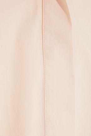 JOSEPH Carla tie-back cotton-poplin tunic