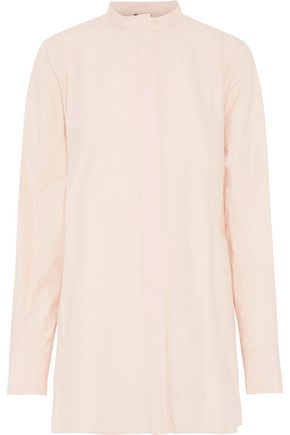 JOSEPH Carla tie-back cotton-poplin tunic