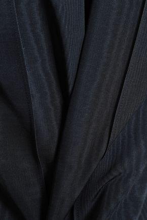 ADAM LIPPES Cotton-blend moire top