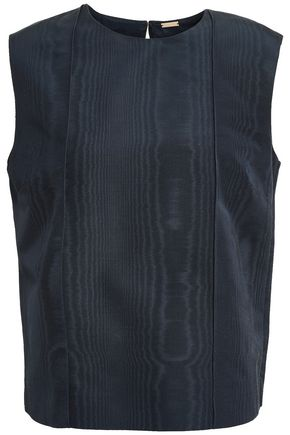 ADAM LIPPES Cotton-blend moire top