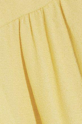 GOAT Glenda cady midi wrap dress