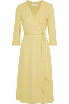 8768d664582e GOAT Glenda cady midi wrap dress