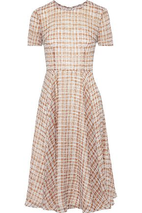 MIKAEL AGHAL Printed georgette dress