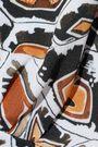 TEMPERLEY LONDON Spiral printed crepe jumpsuit