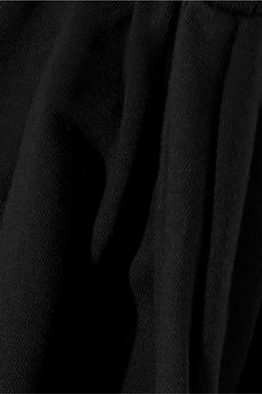 FRAME Fluted stretch-cotton jersey bodysuit