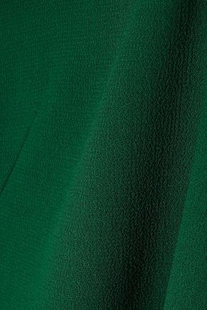 AKRIS Wool-crepe dress