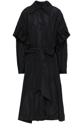 STELLA McCARTNEY Pleated taffeta midi dress
