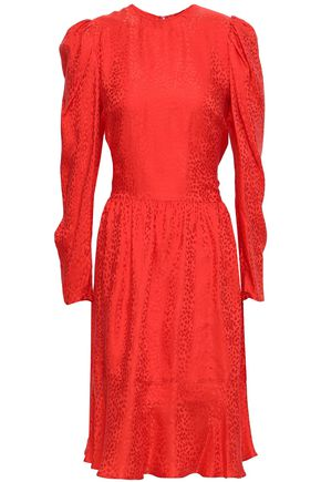 STELLA McCARTNEY Silk-jacquard dress