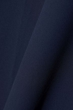 IRIS & INK Summer crepe de chine midi wrap dress