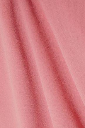 IRIS & INK Cecilia asymmetric crepe de chine dress
