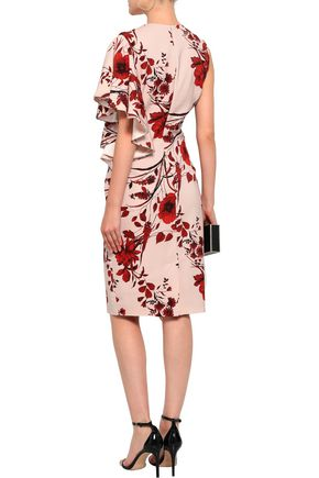 SACHIN & BABI Floral-print stretch-crepe dress