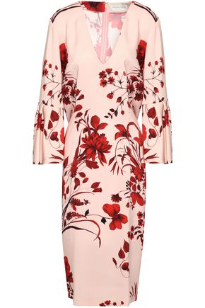 SACHIN & BABI Floral-print stretch-crepe dress