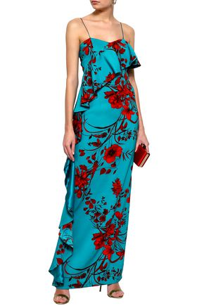 SACHIN & BABI Putri floral-print stretch-crepe maxi dress