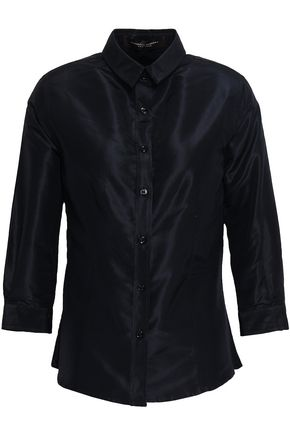 CAROLINA HERRERA Silk-taffeta shirt